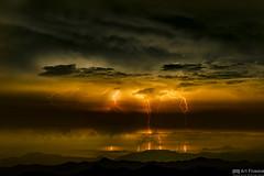 RAIJIN (Art Fiveone) Tags: thunder nightshot nightview ino kochi japan kamegamori landscape nightscape          raijin