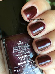 Chanel Vamp (purple yellow) Tags: chanel vamp 18 nail polish