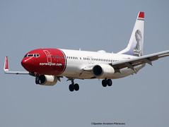 "Norwegian Air International. Livery ""John Bauer Swedish Artist"". (Jacques PANAS) Tags: norwegian air international boeing 7378jpwl eifhs msn390214371"