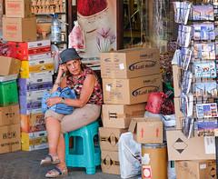 Observation (dhiraj.mahajan) Tags: lady market mydubai observation oldlady streetphotography