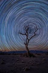 Little Sossus Star Trails (Astro-Tanja) Tags: stars startrails starstax namibia