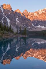 Reflections of Light & Peaks (Ken Krach Photography) Tags: banffnationalpark lakemoraine