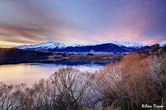 0S1A3017enthuse (Steve Daggar) Tags: newzealand sunset lake lakehayes winter mountains snowcappedmountains