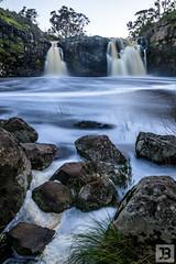 Twin Falls (Joel Bramley) Tags: waterfall landscape water nature long exposure victoria australia rocks