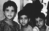 Slum Kids (ravi_aman) Tags: kids slum mumbai blackwhite contrast india eyes poverty