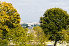 View to Lincoln Memorial (dngovoni) Tags: america arlington arlingtonnationalcemetery dc lincoln virginia cemetery landscape military scenic sky