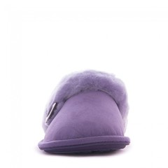 Molly - Sheepskin Mule Slippers - Lilac (Bedroom Athletics) Tags: molly sheepskin mule slippers lilac womens by bedroom athletics double faced shearling upper grade a australian lining branded button attached cuff embossed footbed logo textile covered nonslip tpr sole bedroomathletics