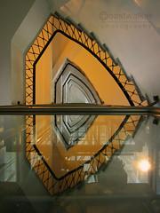 Sagittarius (coastwalker) Tags: architecture stairs hamburg steps perspective stairwell stairway treppe escalera staircase architektur escalier treppenhaus escadaria  coastwalker