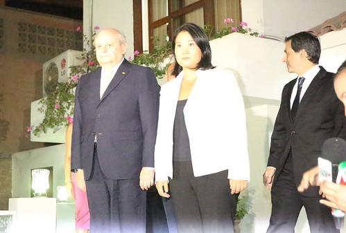 Presidente del Consejo de Ministros, Pedro Cateriano Bellido, se reúne con lideresa de Fuerza Popular, Keiko Fujimori