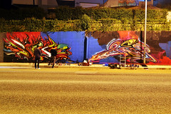 'Nightlife' (snuzstillfree) Tags: painting graffiti letters murals styles walls lettering freez stillfree snuz graffitiletters letterspower