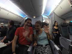 Photo de 14h -  Dans l'avion pour la Nouvelle-Zélande - 24.04.2014