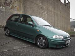 1998 Fiat Punto Sporting (David Kedens) Tags: finepix ayr ayrshire saltpans fiatpunto abp puntopunto mk1punto saltpanz 1998punto1998 sportingsportingfujifilmfujifilm