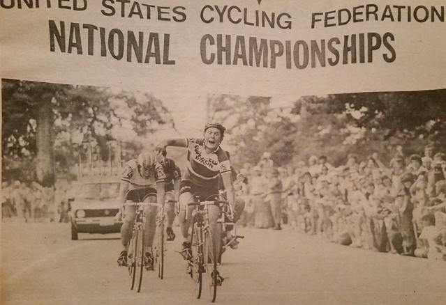 Wayne Stetina wins 1976 U.S. National Road Championship