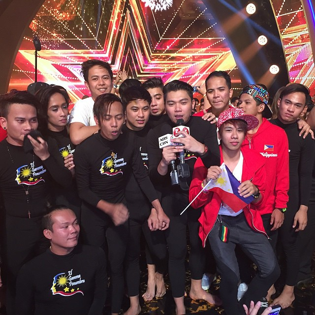 Goosies all day! Its a moment of pride for the Philippines as El Gamma Penumbra wins the biggest talent show in the world. Congratulations also to Gwyneth Dorado, Junior New System and 3rd placer Gerphil Flores. #AsiasGotTalent #StarmoInMalaysia #TuneCel