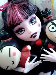 ( MarildaHungria ) Tags: doll vampire garu pucca monsterhigh draculaura