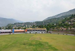 Muzaffarabad Cricket stadium, AJK (Ameer Hamza) Tags: pakistan landscape kashmir ppa landscapephotography pakistanikashmir ameerhamzaadhia ameerhamzaphotography