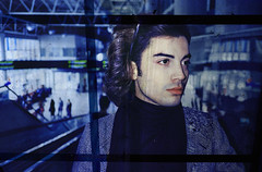 Lost in Translation x Ransom Ashley (ransomashley) Tags: travel italy abstract art love film portraits 35mm reflections lost photography airport darkness ashley fine documentary translation portraiture bologna airports ransom