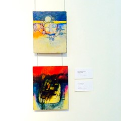 The one with Catabay's paintings (The Fringe tales) Tags: museum painting philippines paintings minimal filipino artmuseum pinoy philippineart pinoypride philippineculture filipinoartist farewelltothesun odetotheaugustmoon romeocatabay