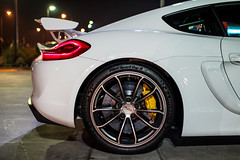 Cayman GT4 (Italo Persi) Tags: porsche cayman gt4 santiago chile copec costanera night