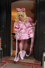 Prissy Sissy Kelly in pansy faggot pink (kellyuk99) Tags: pink sissy prissy