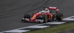 Seb Vettel (handmiles) Tags: ferrari car f1 seb vettel sebastian sebastianvettel motor motoracing silverstone gp gpweekend grandprix formula1 formulaone red scuderia scuderiaferrari outdoor outside out sony sonya77mark2 sonya77m2 tamron tamron150600mm mileshandphotography2016