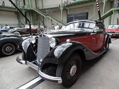 Mercedes 320N Coup (Paris Balade) Tags: mercedes grandpalais