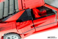 REVIEW LEGO 10248 Ferrari (hello_bricks) Tags: lego 10248 creator creatorexpert ferrari f40 car voiture rouge red review revue hellobricks