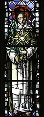St John of Cologne (Lawrence OP) Tags: window stainedglass palm martyr eucharist monstrance gorkum stjohnofcologne