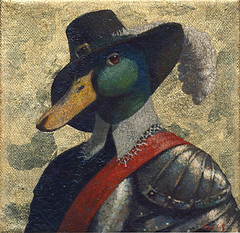 140606a (kevinmcsherryartist) Tags: cavalier roundhead duck mallard barbary brentford battle skirmish sash kingbilly orange loyalist loyal monarchist monarchy dublin irl