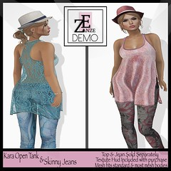 [ZE] Kara Open Tank & Skinny Jeans Vendor Pic (zzoie zee) Tags: shopping eclipse modeling avatar ds july sl secondlife ise exclusive ze penumbra virtualworld slfashion slmodel secondlifefashion zanze designersshowcase penumbraeclipse eclipsemagazine zzoiezee aishaconvair troubledethly iseultmcpherson zanzemainstore