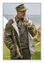 That Condor Moment (Seven_Wishes) Tags: uk people portraits soldier outdoor candid pipe smoking northumberland 1940s uniforms bandage reenactment reenactor wargames newcastleupontyne blyth tyneandwear pipesmoker edoliver photoborder ww2reenactment worldwar2reenactment blythbattery blythsouthbeach 7wishes canonef70200f28lisii canoneos5dmark3 blythbatterygoestowar newcastleupontynenortheast 7wishesphotography