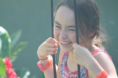 Antonia Swinging From The Eucalyptus Tree (pcurto) Tags: younggirls colombia cundinamarca villeta beautytropics estate