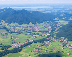 Ruhpolding from Rauschberg (zsonemes) Tags: travel summer mountain travelling pen germany lite deutschland europe view young sunny olympus traveller amateur zd ruhpolding rauschberg epl5