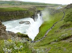 P1870426 Gullfoss waterfall  (25) (archaeologist_d) Tags: waterfall iceland gullfoss gullfosswaterfall