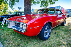 1967 Pontiac Firebird 400 (hz536n/George Thomas) Tags: 2016 cs5 canon canon5d ef1740mmf4lusm firebird flint hdr michigan pontiac sloanmuseum sloanmuseumautofair summer carshow copyright nik 400