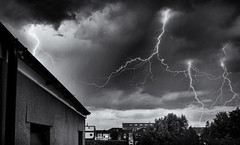 Lightning over Southport (sjreed77) Tags: sky storm nature weather electricity lightning
