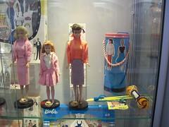 Museum of the 20th century (bigdogbowie) Tags: museum ken barbie skipper skooter 20thcentury seventies sixties francie midge