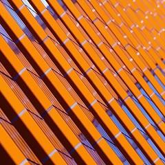 OrangeIsTheNewBlack (jotka*26) Tags: orangeisthenewblack jotka26 berlin uni reflections orange tiles diagonal architecture architektur archdaily architectura architektuur germany afdistdoof bildungsoffensive depth angle
