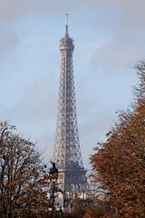 View of Eiffel Tower from Cour Napolon (Kristin_Grace) Tags: view eiffel tower from cour napolon paris napoleon