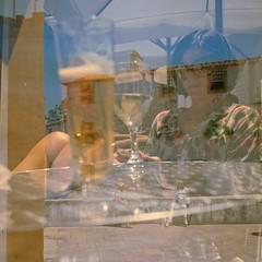 Obidos (StefanoG.com) Tags: obidos magali nazar ocan vague nature sauvage portugal eiffel louis pont fille enfant kid rue street couleur scne voyage stefanotofs stefanog stefanogcom rollei rolleiflex 6x6 square carre film argentique kodak 160 28d