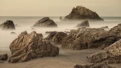 Where did you go my friend Katsu ( Ogawasan) Tags: 300s longexposure japan japon  rock sea godness