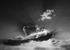 doux clats (doubichlou) Tags: ciel sky nuage cloud val marne ile france banlieue suburb noir blanc black white monochrome