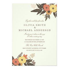 (Fall Foliage Wedding Invitation) #Autumn, #Beige, #Botanical, #Brown, #Celebrations, #Elegant, #Fall, #Flowers, #Foliage, #Ivory, #Leaf, #Leaves, #Orange, #Red, #Roses, #Rustic, #Wedding is available on Custom Unique Wedding Invitations store http://ift. (CustomWeddingInvitations) Tags: fall foliage wedding invitation autumn beige botanical brown celebrations elegant flowers ivory leaf leaves orange red roses rustic is available custom unique invitations store httpcustomweddinginvitationsringscakegownsanniversaryreceptionflowersgiftdressesshoesclothingaccessoriesinvitationsbinauralbeatsbrainwaveentrainmentcomfallfoliageweddinginvitation weddinginvitation weddinginvitations