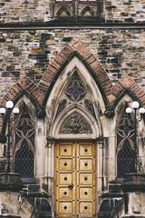 Doorway on Parliament Hill (Christie Purchase) Tags: door doorway brick architecture design lines shape symmetry symmetrical building parliament ottawa ontario contrast window windows glass parliamenthill
