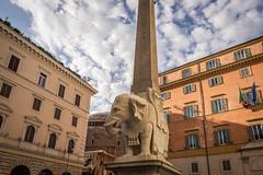 Elephant and Obelisk, Piazza della Minerva, Rome