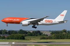 TNT / B772 / OO-TSA / EBLG 23L (_Wouter Cooremans) Tags: eblg lgg liege liegeairport spotting spotter avgeek aviation airplanespotting tnt b772 ootsa 23l b777 b772f
