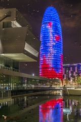 _DSC0072-3 (Dami Tous) Tags: barcelona ciutat glorias nit torreagbar
