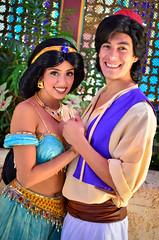 Jasmine and Aladdin (EverythingDisney) Tags: princess disneyland jasmine prince disney aladdin dlr princessjasmine