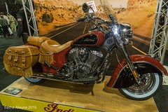 Manchester Bike Show 2015 - Indian Chief Vintage (Sacha Alleyne) Tags: motorbike motorcycle bikeshow 2015 indianmotorcycles eventcity a6000 manchesterbikeshow sonya6000
