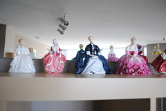 Royal Doulton Collection (Ulixis) Tags: pink blue ladies girls red white amanda vintage dance dolls dress victoria collection sit fragile laurianne finechina thelastwaltz royaldoulton breakable goodytwoshoes ulixis autumnbreezes